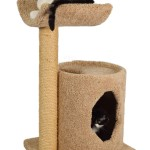 Sturdy Two Tier Cat Tree with Sisal Rope